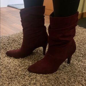 Style & Co scrunched ankle boots
